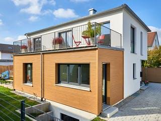 Haus Weinberg von Fertighaus WEISS Außenansicht 1
