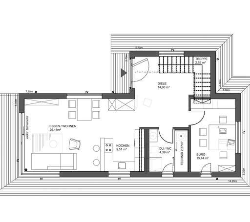 fine Musterhaus München Floorplan 1
