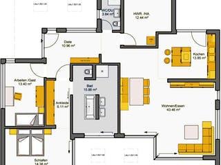 Finess 135 von Büdenbender Hausbau Grundriss 1