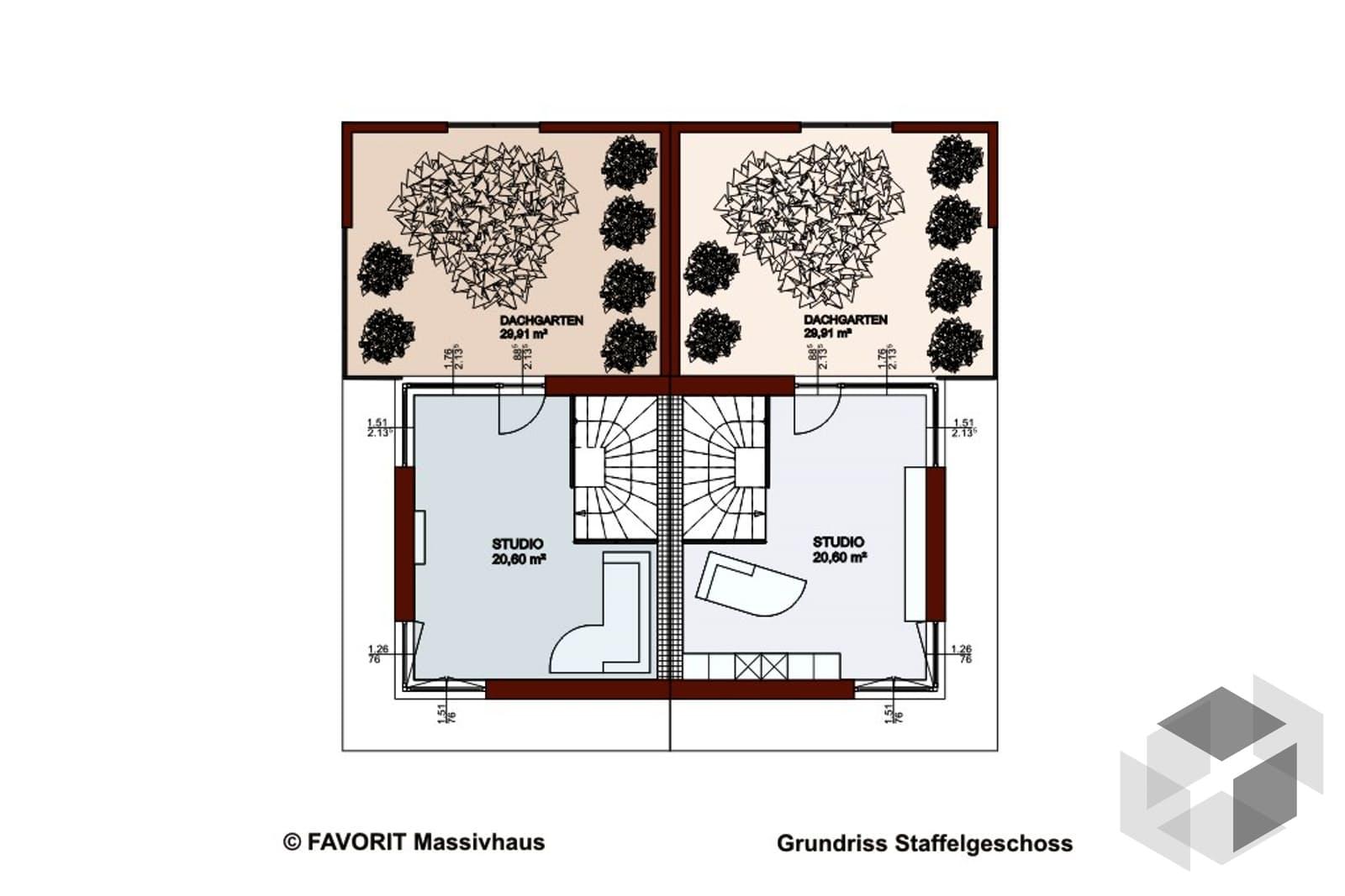 finesse 166 von favorit massivhaus komplette. Black Bedroom Furniture Sets. Home Design Ideas