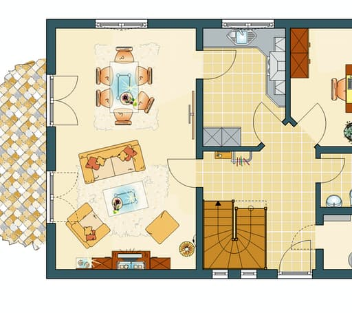 FINESSE 300 (Musterhaus Fellbach) floor_plans 1