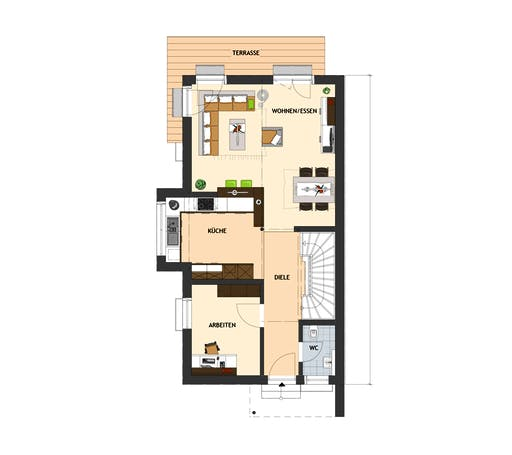 Fingerhaus - DUO 100 V1 Floorplan 1