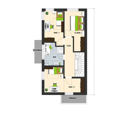 Fingerhaus - DUO 100 V1 Floorplan 2