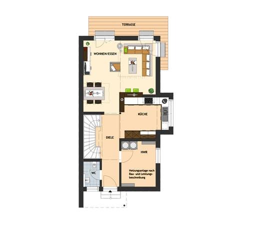 Fingerhaus - DUO 100 V2 Floorplan 1