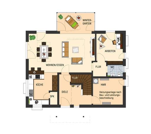 Fingerhaus - Juno 402 Floorplan 1