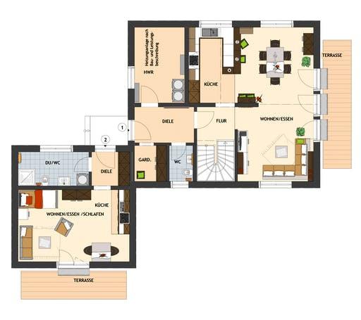 Fingerhaus - Maxime 7 Floorplan 1
