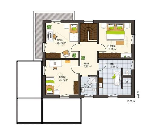 Fingerhaus - Medley 3.0 300B Falkenberg Floorplan 2