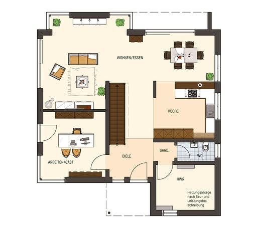 Fingerhaus - Medley 3.0 300B Fellbach Floorplan 1