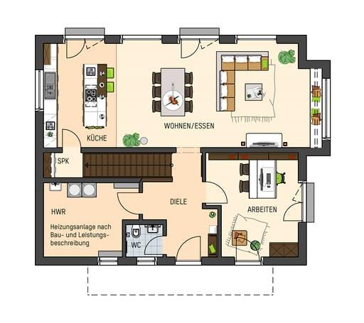 Fingerhaus - SENTO 500B S215 MH Frankenberg Floorplan 1