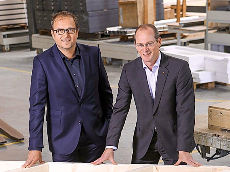 Klaus Cronau und Dr. Mathias Schäfer von FingerHaus