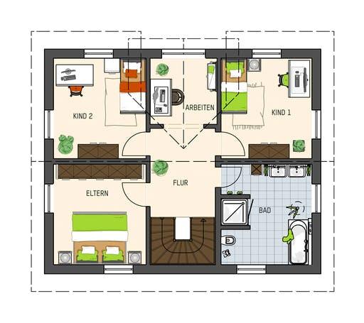 Fingerhaus - UNO 2.0 200 B S180 MH Leipzig Floorplan 2