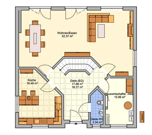 Fingerhut - Klara Floorplan 1