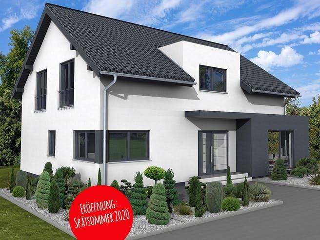 Bad Vilbel - Musterhaus NEU von Fingerhut Haus Außenansicht 1