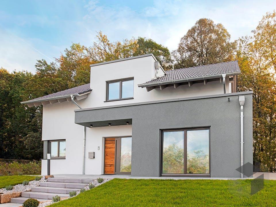Bad Vilbel - Musterhaus NEU von Fingerhut Haus Außenansicht