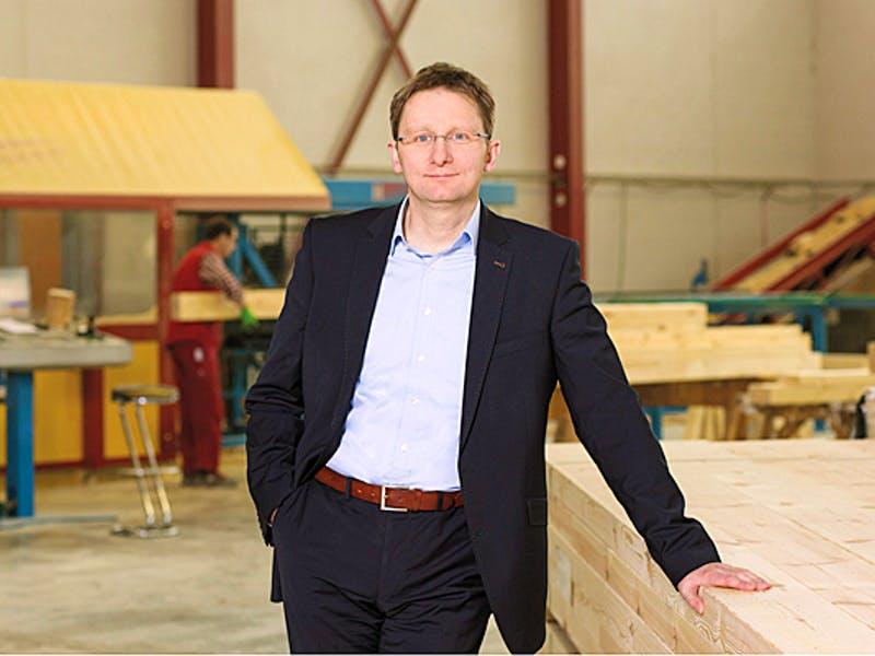 Holger Linke, Geschäftsführender Gesellschafter von Fingerhut Haus