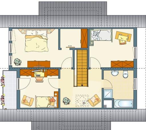 FINO 300 A (Musterhaus Würzburg) floor_plans 0