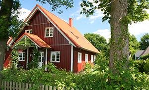 Schwedisches Holzhaus ein schwedenhaus bauen anbieter infos preise