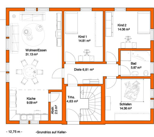 Fk 16 kundenhaus inactive von frick qualit tshaus for Floor plans for 160 000