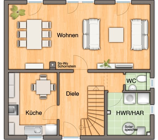 Flair 110 - Trend floor_plans 1