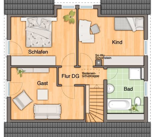 Flair 125 - Trend floor_plans 0