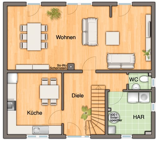 Flair 134 - Trend floor_plans 1