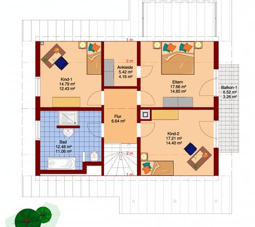 FLAIR 400 (BV Pakura) floor_plans 0