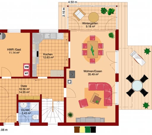 FLAIR 400 (BV Pakura) floor_plans 1
