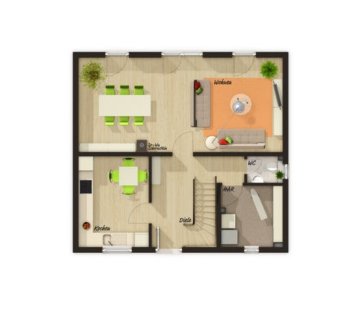 Flair 110 Trend Floorplan 1