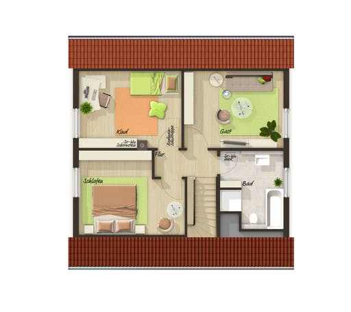 Flair 110 Trend Floorplan 2