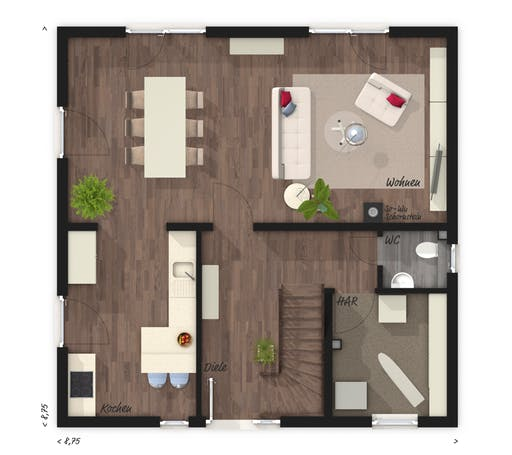 Flair 124 Floorplan 1