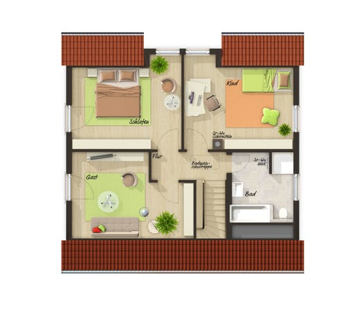 Flair 125 Trend Floorplan 1