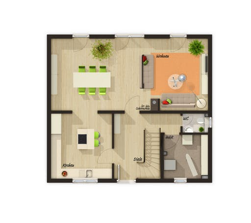 Flair 125 Trend Floorplan 2