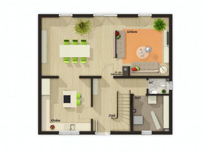 Flair 125 Trend Floorplan 2