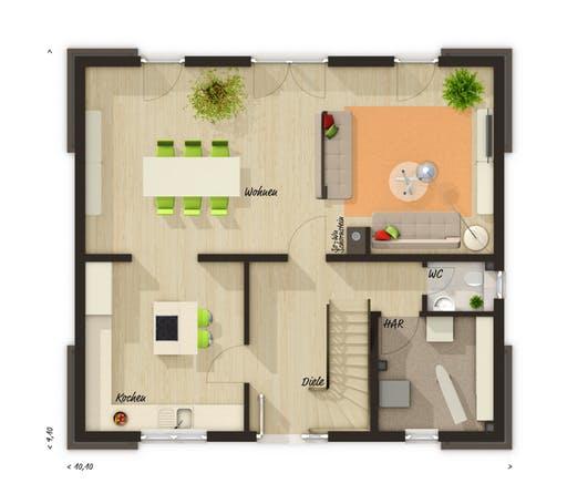 Flair 130 Floorplan 1