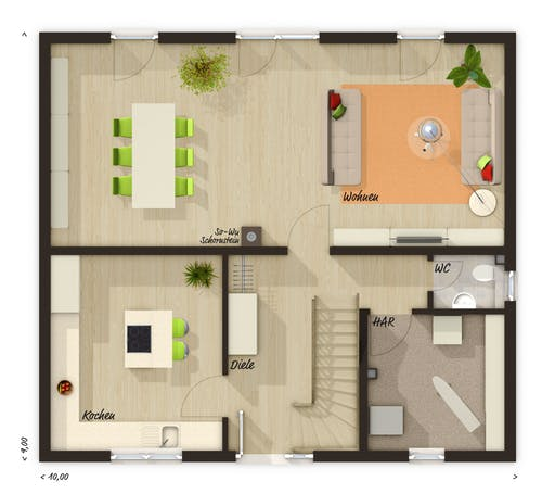 Flair 134 Trend Floorplan 1