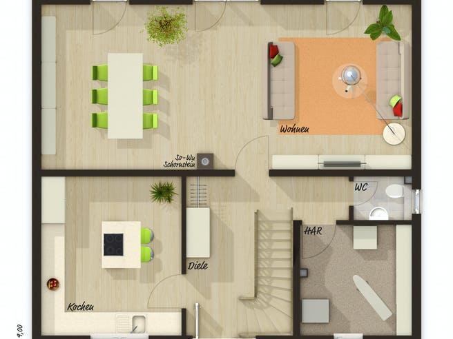 Flair 134 Trend Floorplan 1