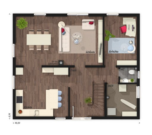 Flair 152 RE Floorplan 1