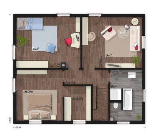 Flair 152 RE Floorplan 2