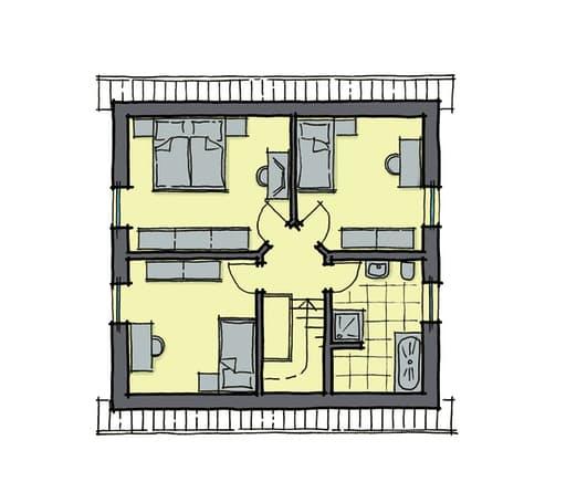 Gussek Haus - Fliedernallee DG