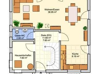 Florenz von Fingerhut Haus Grundriss 1