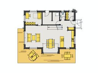 F160 - Faber von Fluck Holzbau Grundriss 1