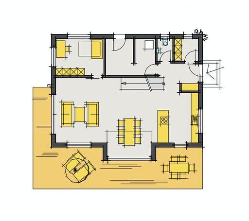 Fluck - F160 Floorplan 1