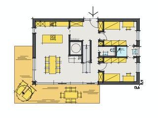 F174 - Kutter von Fluck Holzbau Grundriss 1