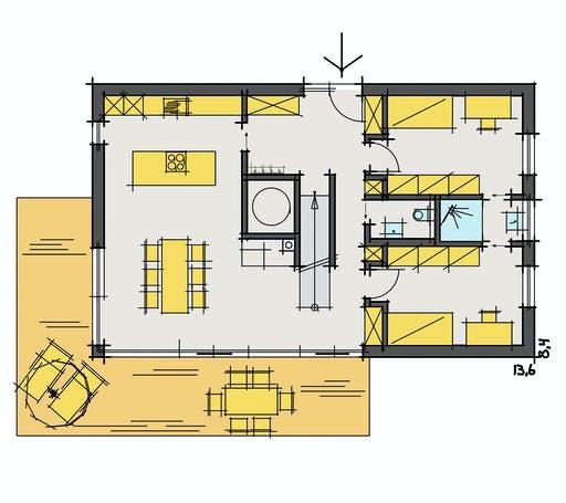 Fluck - F174 Floorplan 1