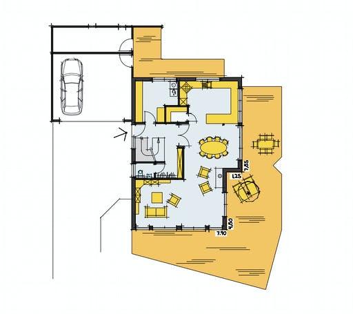 Fluck - F241 Floorplan 1