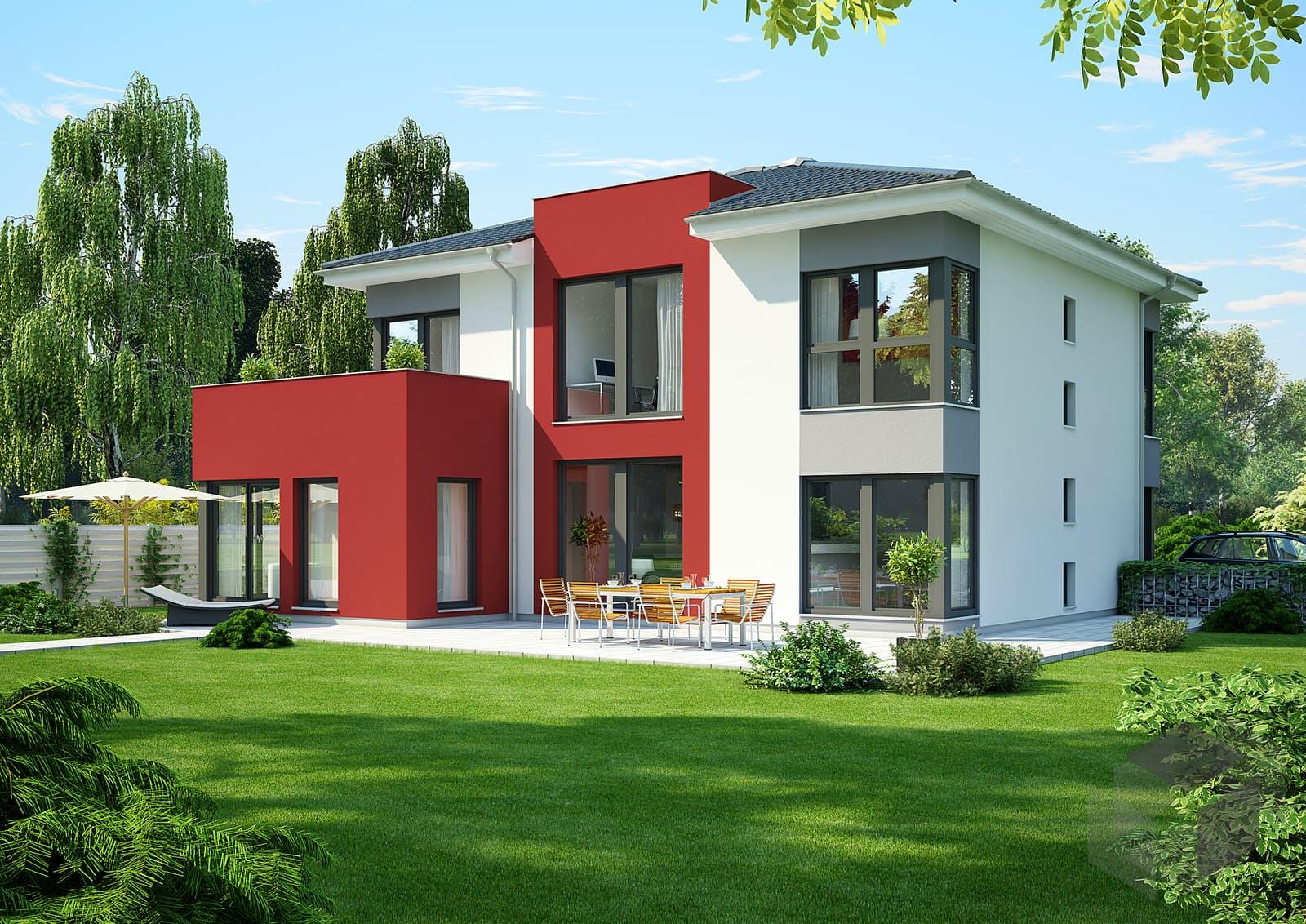 fn 98 110 b v6 effizienzhaus 55 von okal haus. Black Bedroom Furniture Sets. Home Design Ideas