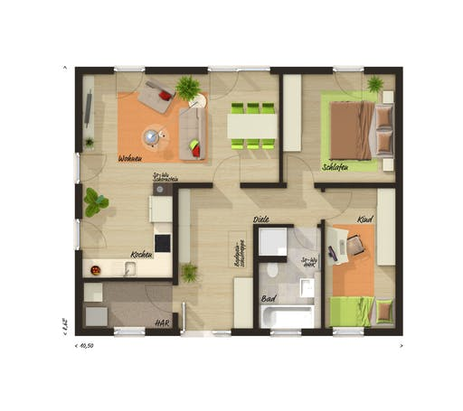 Forever Young Trend Floorplan 1