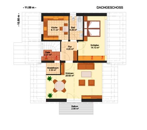 Fortuna 180 (Zweifam.-haus) floor_plans 0