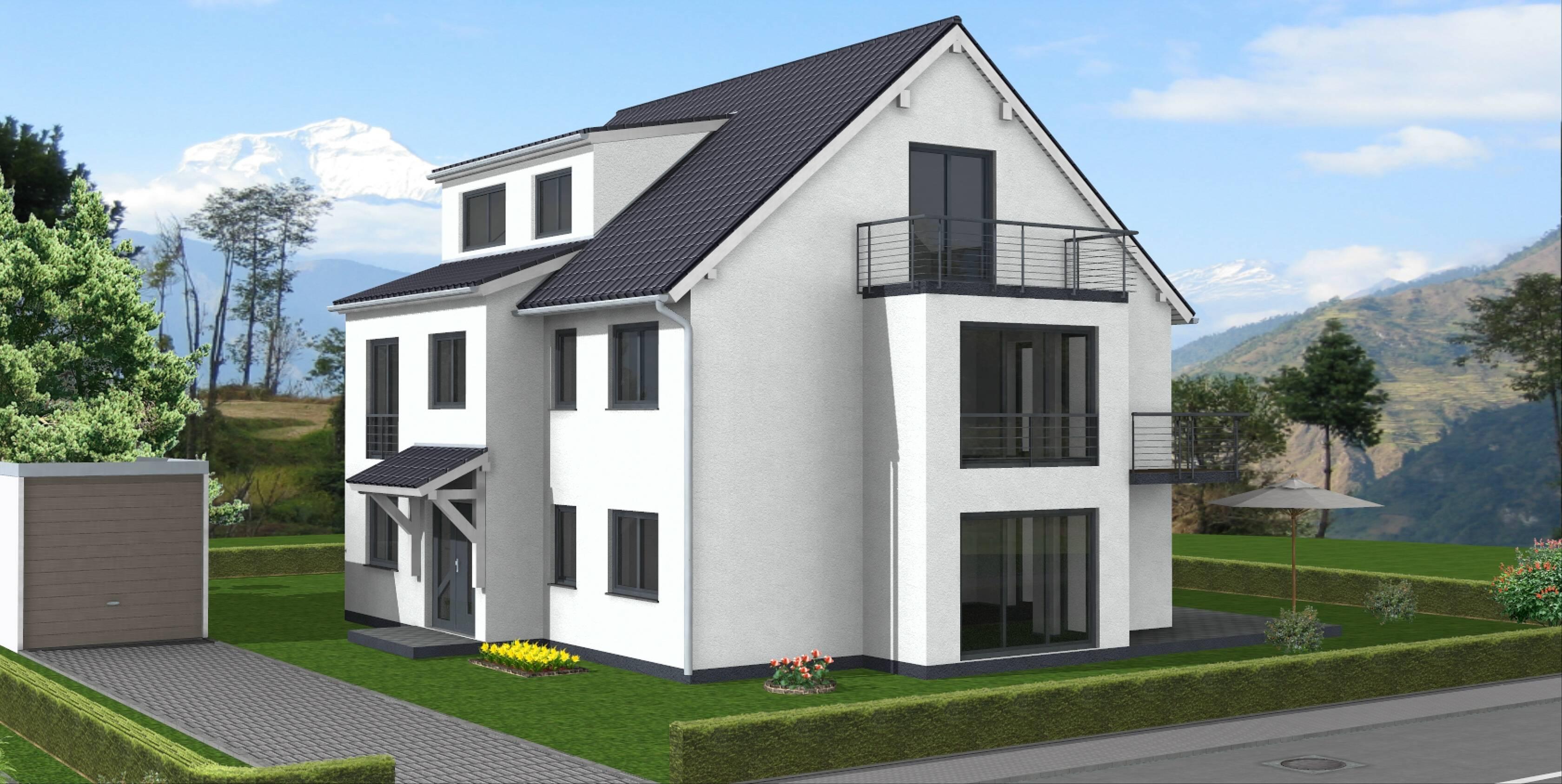 Passivhaus fertighaus  Fertighaus Bauen Günstig: Gussek haus bungalows landhäuser ...