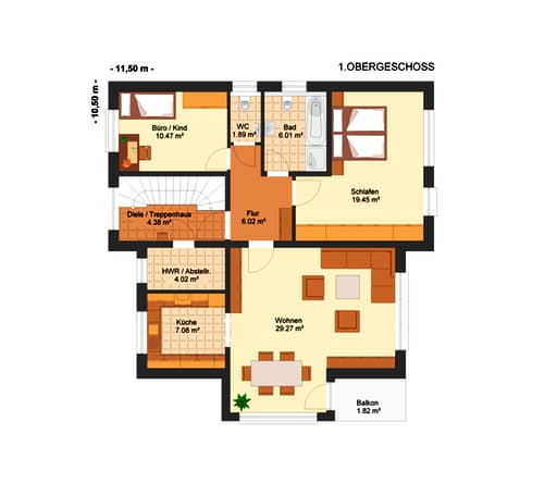 Fortuna 283 (Dreifamilienhaus) floor_plans 0